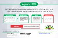 Calendário para Discussão da LDO 2020