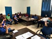 Câmara Participa de reunião com presidente do Ipregam sobre alteração na previdência dos servidores municipais