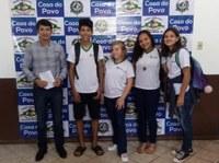 Sérgio Bouez Recepciona alunos da Escola Toufia Bouchabki