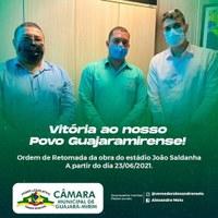 Vitória ao nosso Povo Guajaramirense! Vereador Alexandre Melo pede apoio da SEJUCEL para o Esporte em Guajará-Mirim