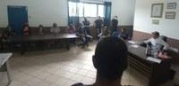 PRESIDENTE DA CÂMARA SE REÚNE COM FUNCIONÁRIOS DO LEGISLATIVO