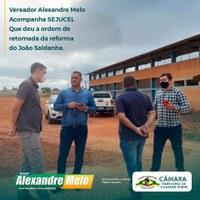 SUPERINTENDENTE DA SEJUCEL FAZ REUNIÃO NA CÂMARA MUNICIPAL VEREADORES.